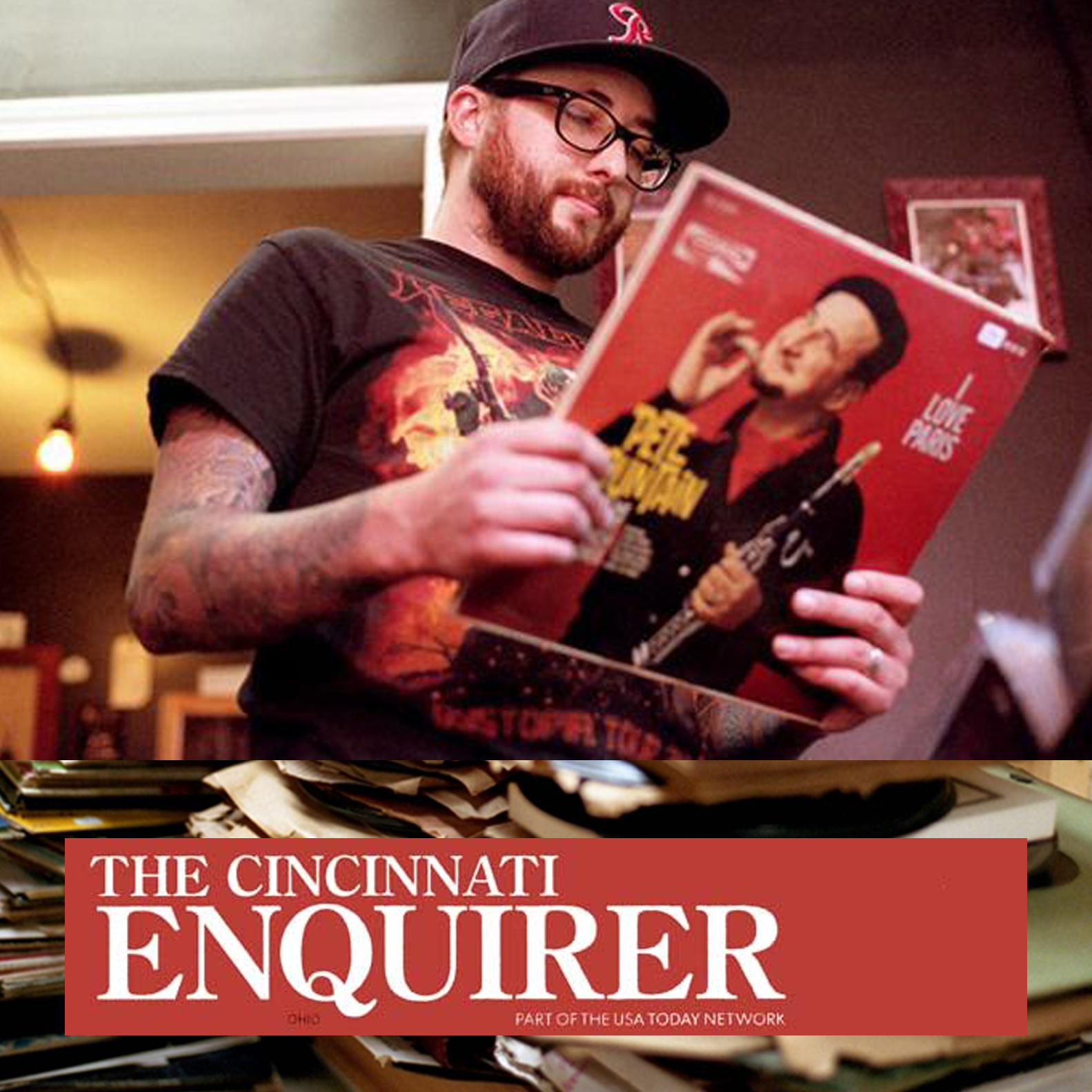 CINCINNATI ENQUIRER – Cincinnati record stores are booming. This book explains why.