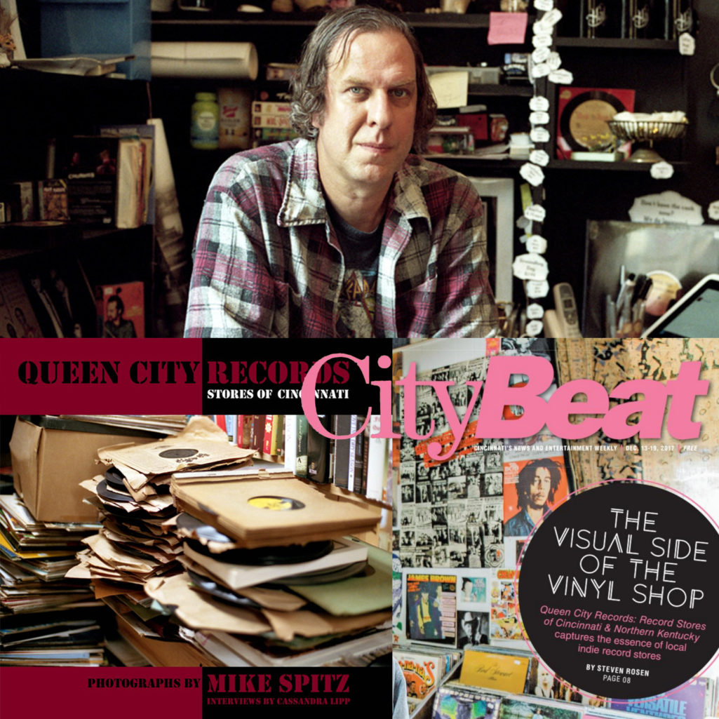 City Beat – The Visual Side of the Vinyl Shop